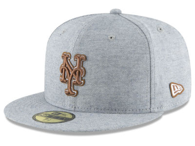 New York Mets New Era MLB Butter Fill 59FIFTY Cap
