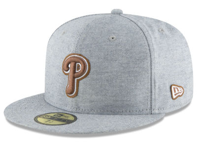 Philadelphia Phillies New Era MLB Butter Fill 59FIFTY Cap