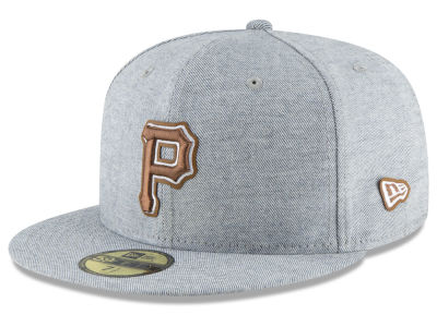 Pittsburgh Pirates New Era MLB Butter Fill 59FIFTY Cap