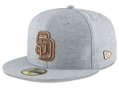 San Diego Padres New Era MLB Butter Fill 59FIFTY Cap