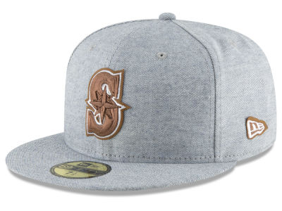 Seattle Mariners New Era MLB Butter Fill 59FIFTY Cap