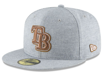 Tampa Bay Rays New Era MLB Butter Fill 59FIFTY Cap