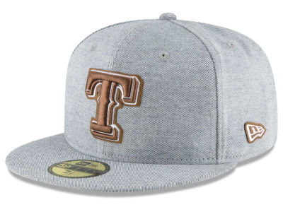 Texas Rangers New Era MLB Butter Fill 59FIFTY Cap