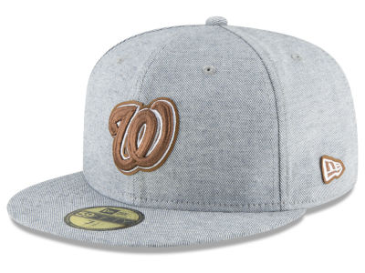 Washington Nationals New Era MLB Butter Fill 59FIFTY Cap