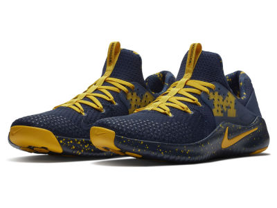 Michigan Wolverines Nike NCAA Men's Free Trainer V8 Week Zero Shoes