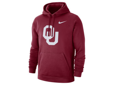 Oklahoma Sooners Nike NCAA Men's Cotton Club Fleece Hooded Sweatshirt
