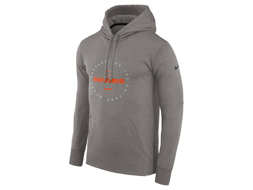 a13242c55 Chicago Bears Nike NFL Men s Property Of Therma Hoodie
