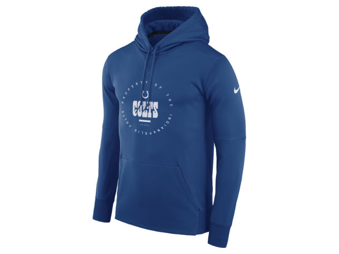 Indianapolis Colts Nike NFL Men s Property Of Therma Hoodie  9a8fbf8aa