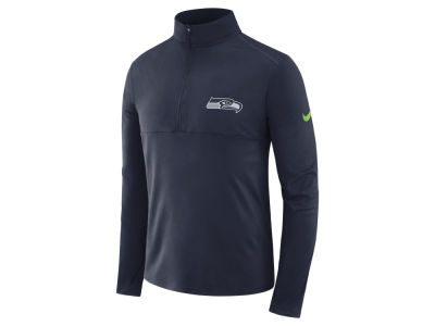 Seattle Seahawks Nike NFL Men's Core Modern Quarter Zip Pullover