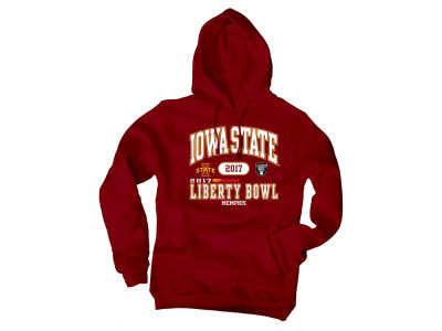 Iowa State Cyclones Blue 84 2017 NCAA Men's Affliction Bowl Bound Hooded Sweatshirt