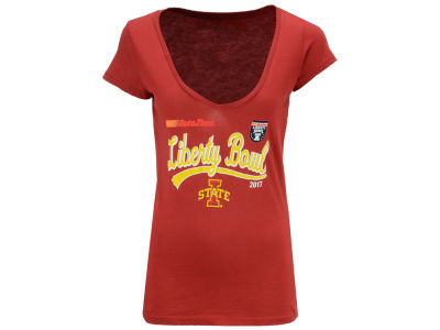Iowa State Cyclones Blue 84 2017 NCAA Women's Close Call Bowl Bound T-Shirt