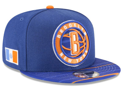 Brooklyn Nets New Era NBA City Flag 9FIFTY Snapback Cap