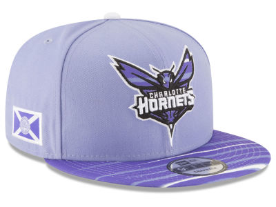 Charlotte Hornets New Era NBA City Flag 9FIFTY Snapback Cap