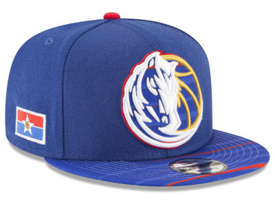 Dallas Mavericks New Era NBA City Flag 9FIFTY Snapback Cap