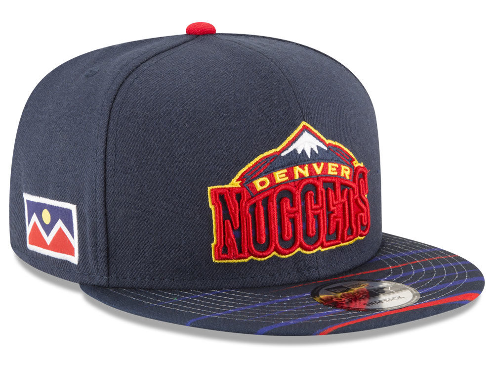 Denver Nuggets New Era NBA City Flag 9FIFTY Snapback Cap  ab6d8486bf58
