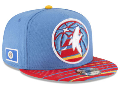 Minnesota Timberwolves New Era NBA City Flag 9FIFTY Snapback Cap