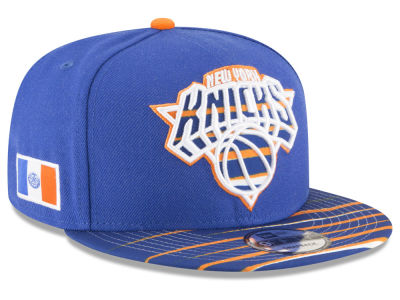 New York Knicks New Era NBA City Flag 9FIFTY Snapback Cap