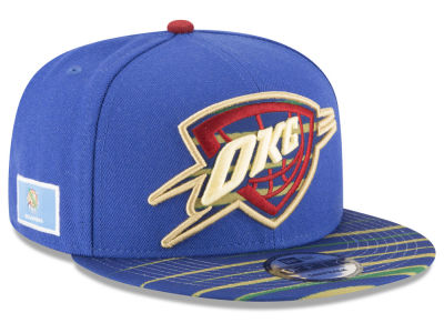 Oklahoma City Thunder New Era NBA City Flag 9FIFTY Snapback Cap