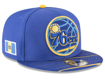 Philadelphia 76ers New Era NBA City Flag 9FIFTY Snapback Cap