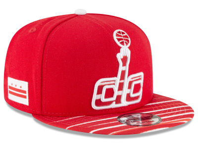 Washington Wizards New Era NBA City Flag 9FIFTY Snapback Cap