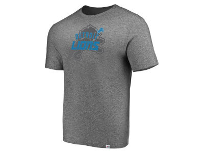 Detroit Lions Majestic NFL Men s Static Fade T-Shirt d4def693f