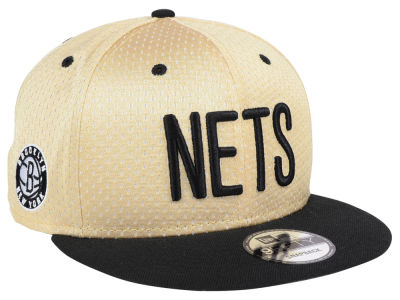 Brooklyn Nets New Era NBA Champagne 9FIFTY Snapback Cap