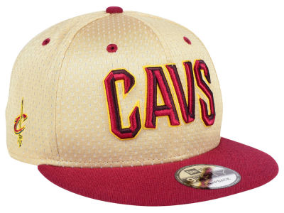 Cleveland Cavaliers New Era NBA Champagne 9FIFTY Snapback Cap