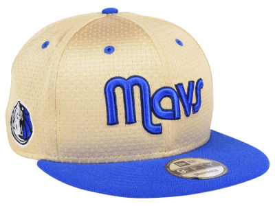 Dallas Mavericks New Era NBA Champagne 9FIFTY Snapback Cap
