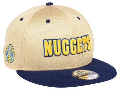 Denver Nuggets New Era NBA Champagne 9FIFTY Snapback Cap