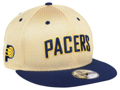 Indiana Pacers New Era NBA Champagne 9FIFTY Snapback Cap