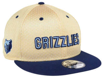 Memphis Grizzlies New Era NBA Champagne 9FIFTY Snapback Cap