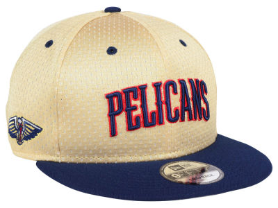 New Orleans Pelicans New Era NBA Champagne 9FIFTY Snapback Cap