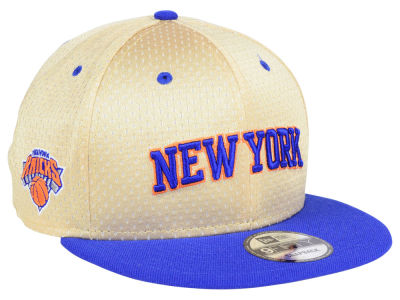 New York Knicks New Era NBA Champagne 9FIFTY Snapback Cap
