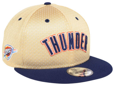 Oklahoma City Thunder New Era NBA Champagne 9FIFTY Snapback Cap
