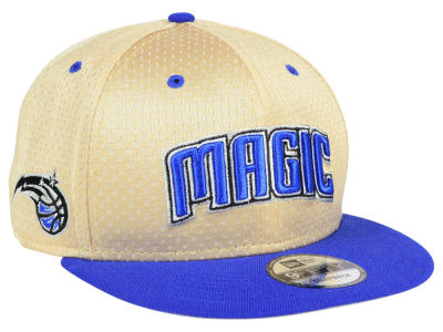 Orlando Magic New Era NBA Champagne 9FIFTY Snapback Cap