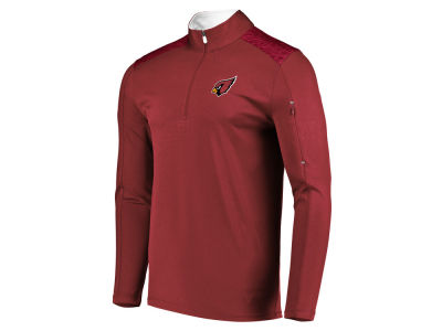 Arizona Cardinals Majestic NFL Men s Ultra Streak Half Zip Pullover 1737d1c308