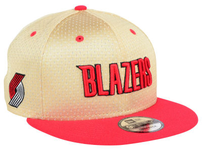 Portland Trail Blazers New Era NBA Champagne 9FIFTY Snapback Cap
