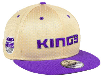 Sacramento Kings New Era NBA Champagne 9FIFTY Snapback Cap