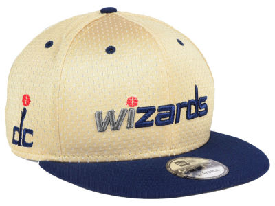 Washington Wizards New Era NBA Champagne 9FIFTY Snapback Cap
