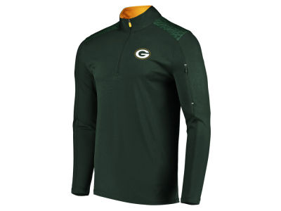 Green Bay Packers Majestic NFL Men's Ultra Streak Half Zip Pullover
