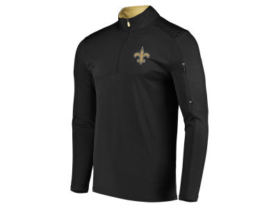 New Orleans Saints Majestic NFL Men's Ultra Streak Half Zip Pullover