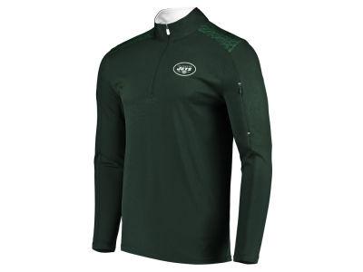 ba979e15f New York Jets Majestic NFL Men s Ultra Streak Half Zip Pullover