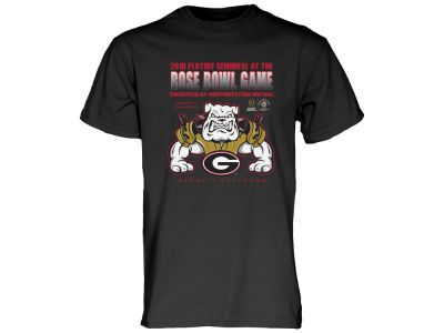 Georgia Bulldogs 2018 NCAA Men's College Football Playoff Bound Spiked Shoulder Pad T-Shirt