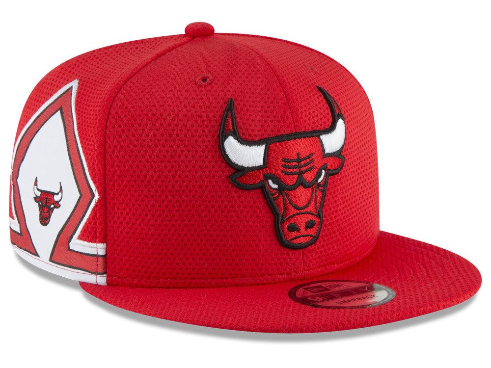 Chicago Bulls New Era NBA Jersey Hook 9FIFTY Snapback Cap  5474948dddc