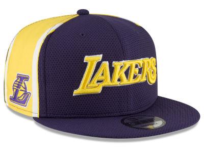 lowest price 51c5b 4ceb6 ... best price los angeles lakers new era nba jersey hook 9fifty snapback  cap 0ec1a 7456e