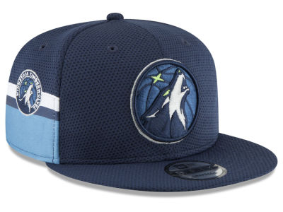 Minnesota Timberwolves New Era NBA Jersey Hook 9FIFTY Snapback Cap