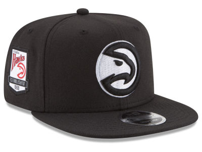 Atlanta Hawks New Era NBA Anniversary Patch 9FIFTY Snapback Cap