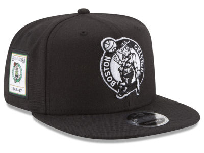 Boston Celtics New Era NBA Anniversary Patch 9FIFTY Snapback Cap