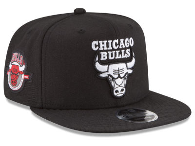 Chicago Bulls New Era NBA Anniversary Patch 9FIFTY Snapback Cap