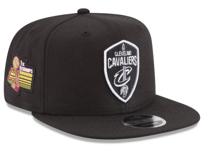 Cleveland Cavaliers New Era NBA Anniversary Patch 9FIFTY Snapback Cap